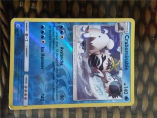 Pokemon card 43/149 Crabominable , Puerto Rico