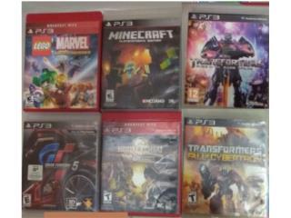Juegos PS3 Originales, Puerto Rico