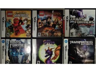 Juegos DS originales compatible con 3DS, Puerto Rico