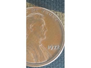 Centavo Lincoln 1972 error doble fecha, Puerto Rico