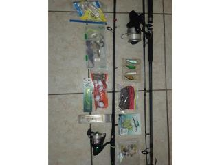 Fishing rods and more, Puerto Rico
