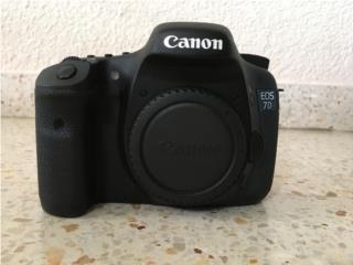 Cámara CANON 7D DSRL--6,613 Shutter Count!!! , Puerto Rico