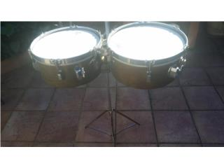 Timbales Leedy (by Slingerland) 60's (13x14), Puerto Rico