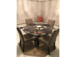 Dining Table and Chairs, Puerto Rico