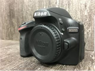 Nikon d3200 Body , Puerto Rico