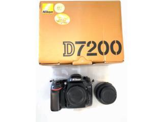 Nikon 7200 con Lente , Puerto Rico