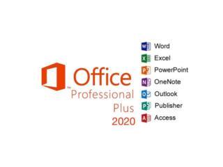 Office Pro 2020\AutoCAD\SolidWork\Adobe\CorelDRAW, Puerto Rico