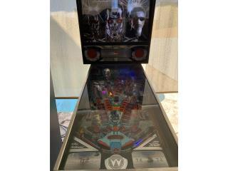 Terminator 2 Pinball , Puerto Rico