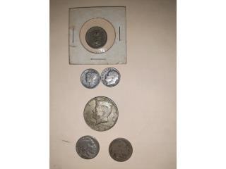 Vendo monedas antiguas. Cuanto ofrecen?, Puerto Rico