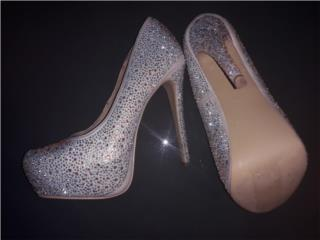 zapatos size 8 $60 marca charlotte russe, Puerto Rico