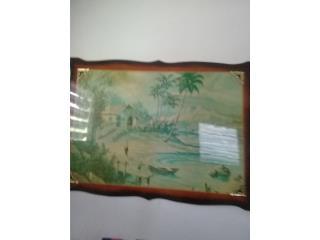 Cuadro antiguo, Puerto Rico