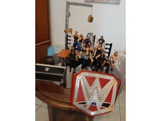 Figuras y Ring WWE, Puerto Rico