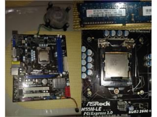 Motherboard Gigabyte H55M-LE ASRock Para Piezas, Puerto Rico