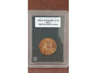 Dolar sacagawea 2000-D MS70, Puerto Rico