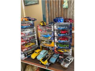 Carros a escala de coleccion, Puerto Rico