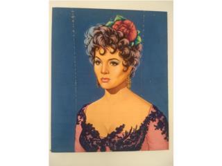 Cuadro  para Coleccionistas de Sarita Montiel, Puerto Rico
