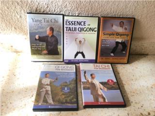Coleccion de DVD sobre Taichi y Qigong, Puerto Rico