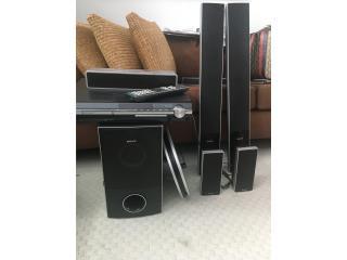 Dvd con sistema de  Bocinas Sony, Puerto Rico