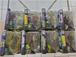 Colección de Universal Studios Monsters, Puerto Rico
