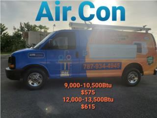 Consola Inverter 9,000Btu Air.Con $575, Puerto Rico