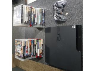 Playstation 3 con juegos, Puerto Rico