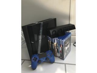 PS4, como nuevo funciona perfectamente, Puerto Rico
