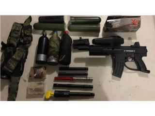 Pistola Tippman y mas de 10 accesorios!, Puerto Rico