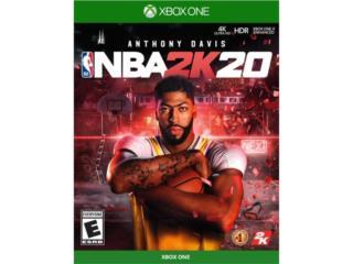 NBA 2K20 XBOX ONE, Puerto Rico