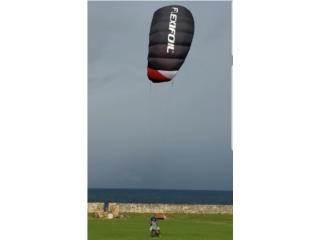 Flexifoil 3.4M Trainer Kite 4 line power kite, Puerto Rico