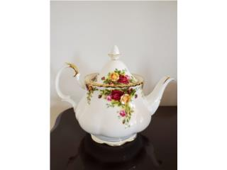 Royal Albert Old Country Roses 4-Cup Teapot, Puerto Rico