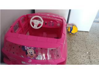 Se vende carro minnie, Puerto Rico