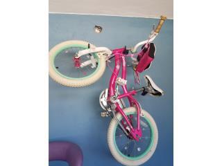 Bicicleta schwinn niña, Puerto Rico