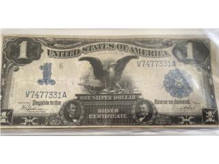 "Billete famosa ""Black Eagle"", Puerto Rico"