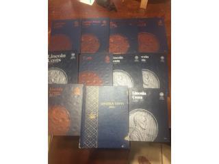 Libro para coleccionar monedas, Puerto Rico