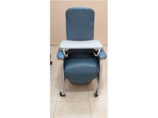 Silla reclinable de suero o tratamiento, Puerto Rico