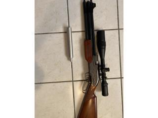 Rifle de aire Sumatra 2500 .25, Puerto Rico