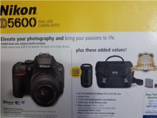 Nikon D5600 BUNDLE, Puerto Rico