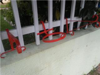 Set 3 portatiestos metal, Puerto Rico