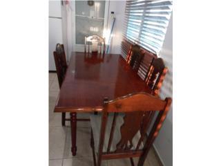 Juego de Comedor - 6 sillas y mesa, Puerto Rico