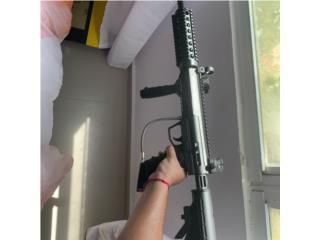 Pistola de gotcha nueva con Tanque, casco, bulto , Puerto Rico