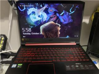 Acer Nitro 5 1650 gaming laptop, Puerto Rico