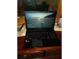 Laptop acer exelentes condiciones $160 omo, Puerto Rico