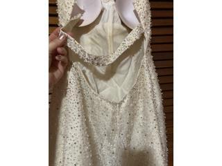 Traje de novia de Demetrios usado, Puerto Rico