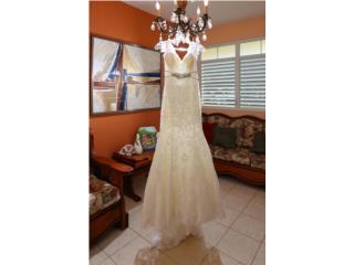 Traje de novia como nuevo de Karelina Sposa, Puerto Rico