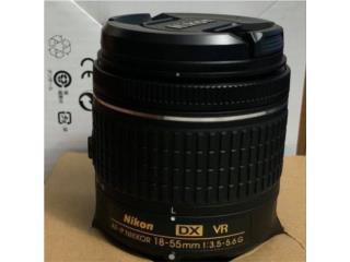 Nikon 18-55mm 1:3.5-5.6g DX, Puerto Rico
