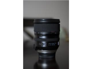 Tamron SP 24-70mm  Lens for Nikon F, Puerto Rico