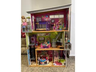 Mansión Barbie incluyo accesorios , Puerto Rico