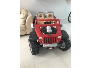 Jeep eléctrico, como nuevo, lo vendo en $350, Puerto Rico