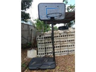 se vende canasto de baloncesto, Puerto Rico