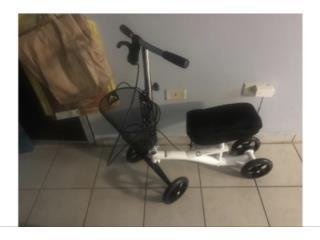 "Carrito ""Knee Scooter y Muletas Aluminio, Puerto Rico"